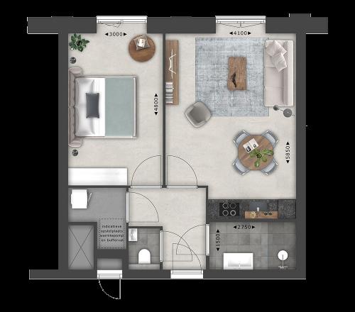 Appartementen BNR 25
