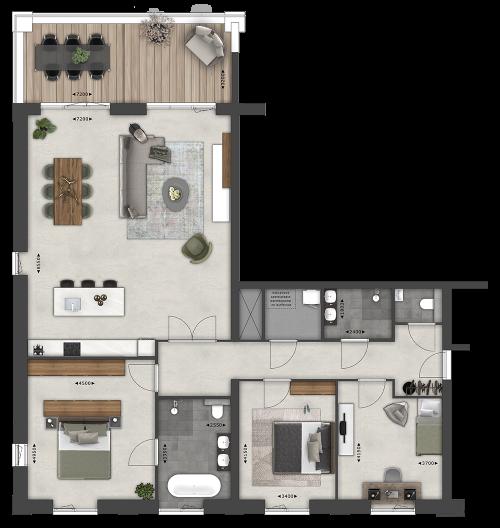 Appartementen BNR 26 & 28
