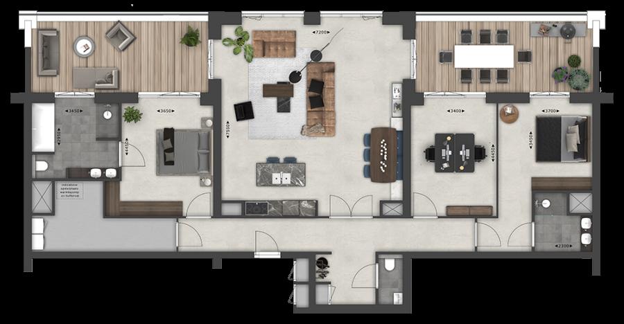 Appartementen BNR 27