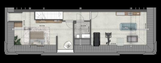 Het Koetshuis 2e verdieping