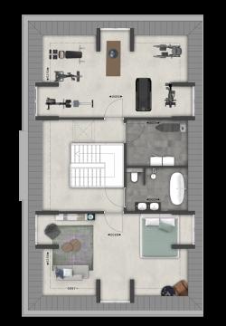 Villa Vechtvoorde 2e verdieping